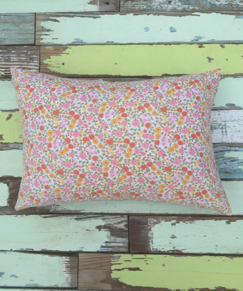 Floral Feedsack Pillow