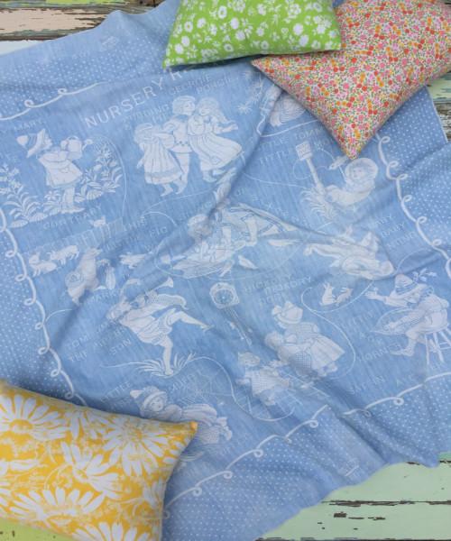 Bates Nursery Rhyme Blanket