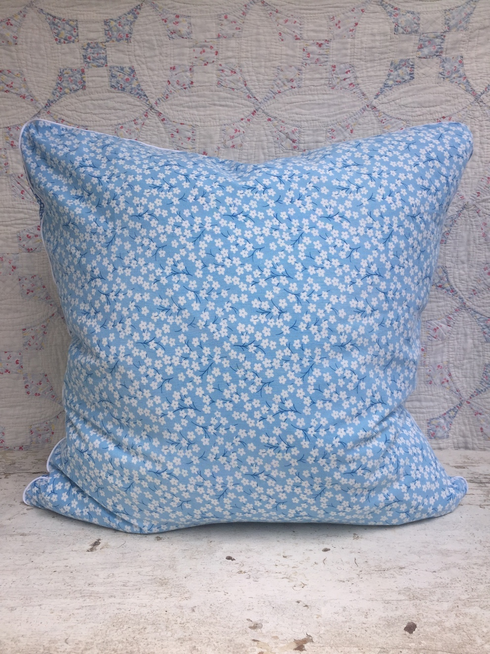 Adelaide Feedsack Pillow