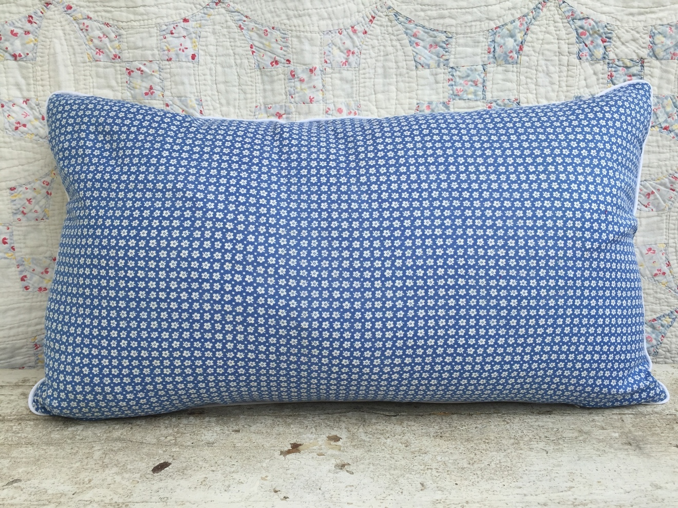 Clementine Feedsack Pillow