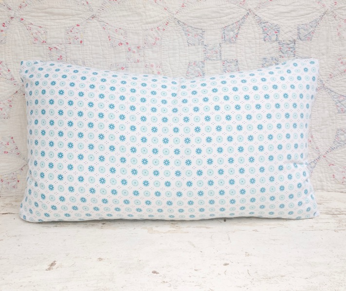 Alice Vintage Feedsack Lumbar Pillow