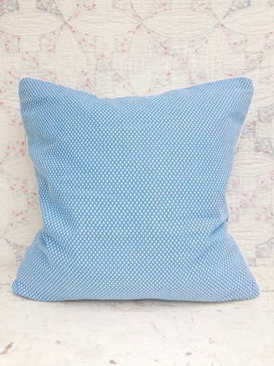 Clara Vintage Feedsack Pillow