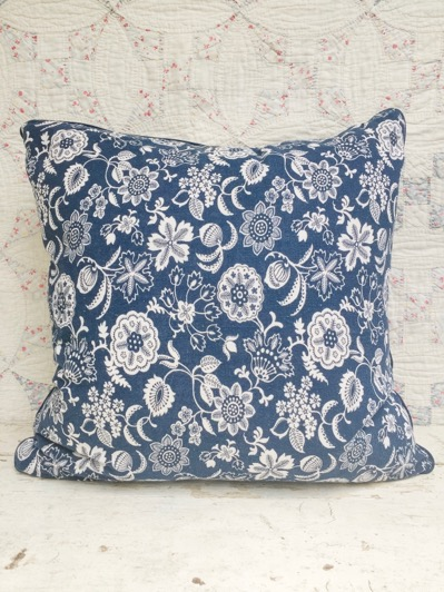 Gemma Vintage Feedsack Pillow