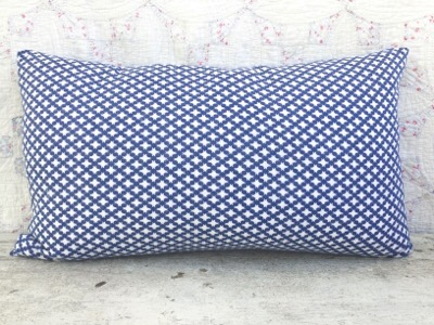 Flynn Vintage Feedsack Lumbar Pillow